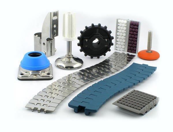 Komponenty do budowy przenośników